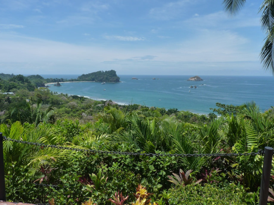 photo plage dans la parc Manuel Antonio.