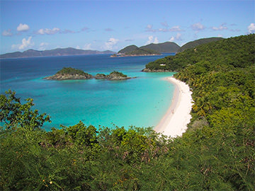 Saint-John, Trunk Bay