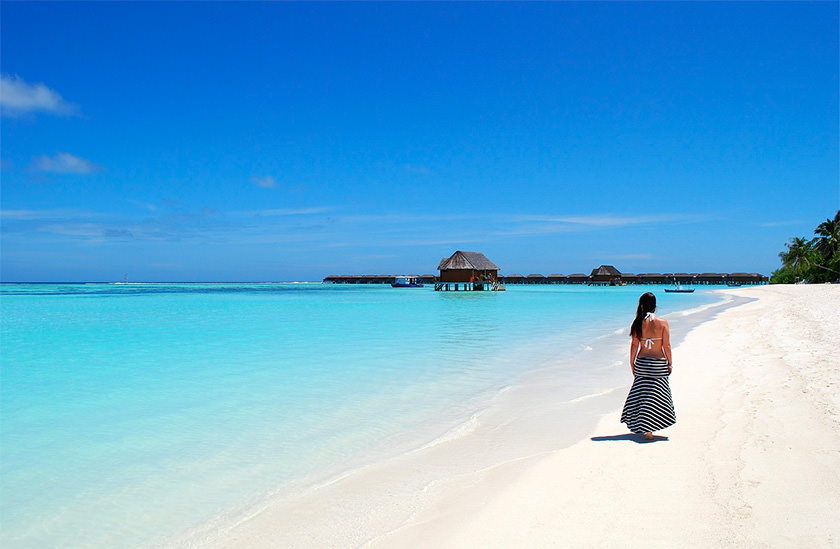 Maldives Plage