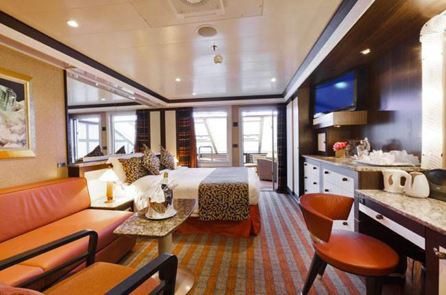 Costa Fascinosa : cabine Suite