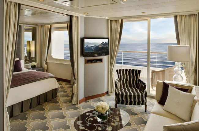 Crystal Serenity : cabine Suite