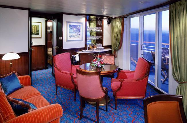 Norwegian Sky : cabine Suite