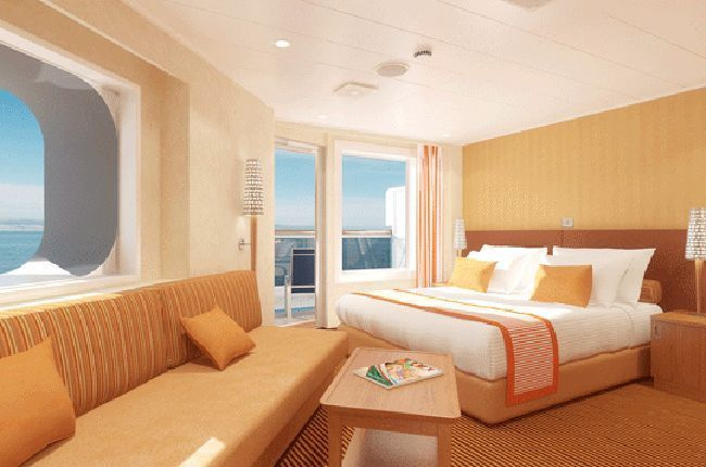 Carnival Breeze : cabine Suite
