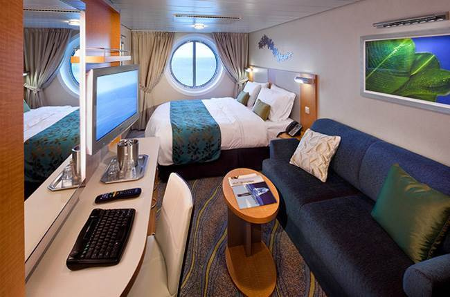 Allure of the Seas : cabine Extérieure