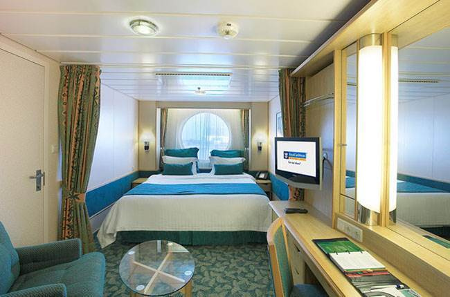 Liberty of the Seas : cabine Extérieure