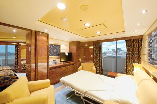 MSC Fantasia : cabine Suite