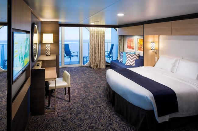 Ovation of the Seas : cabine Suite