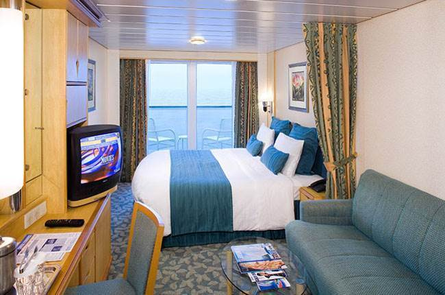 Adventure of the Seas : cabine Balcon