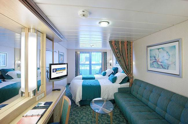 Freedom of the Seas : cabine Balcon