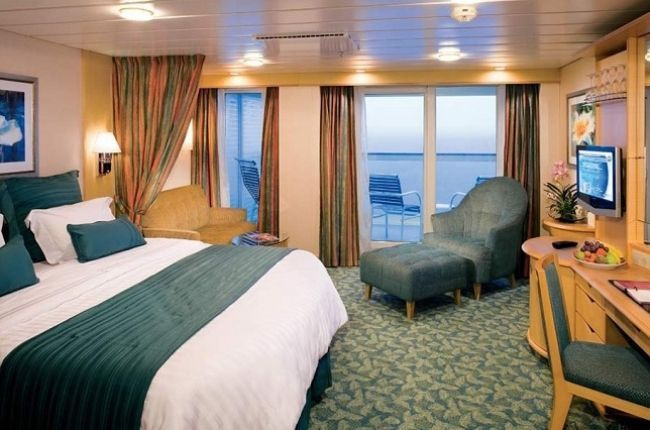 Freedom of the Seas : cabine Suite