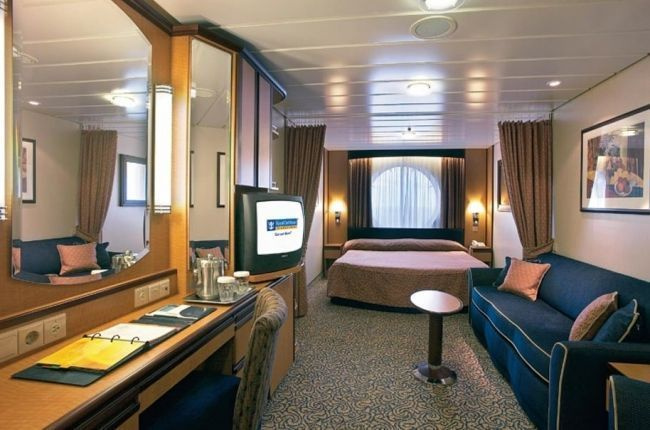 Brilliance of the Seas : cabine Extérieure