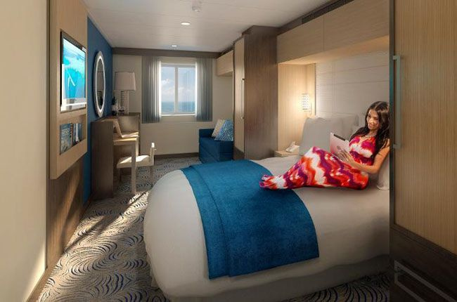 Anthem of the Seas : cabine Extérieure
