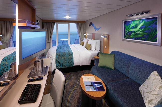 Oasis of the Seas : cabine Balcon