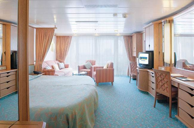 Navigator of the Seas : cabine Suite
